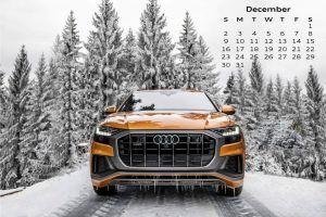 Audi Calendar_December 2018_Q8