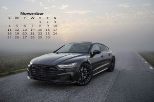 Audi Calendar_November 2018_Audi A7