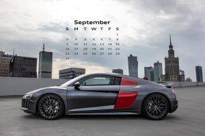 Audi Calendar_September 2018_Audi RS3 Sedan