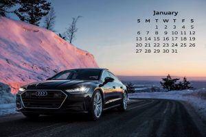 Audi Calendar_January 2019