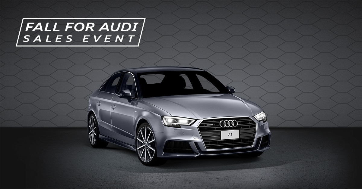 Fall for Audi Sales Event – 2018 A3