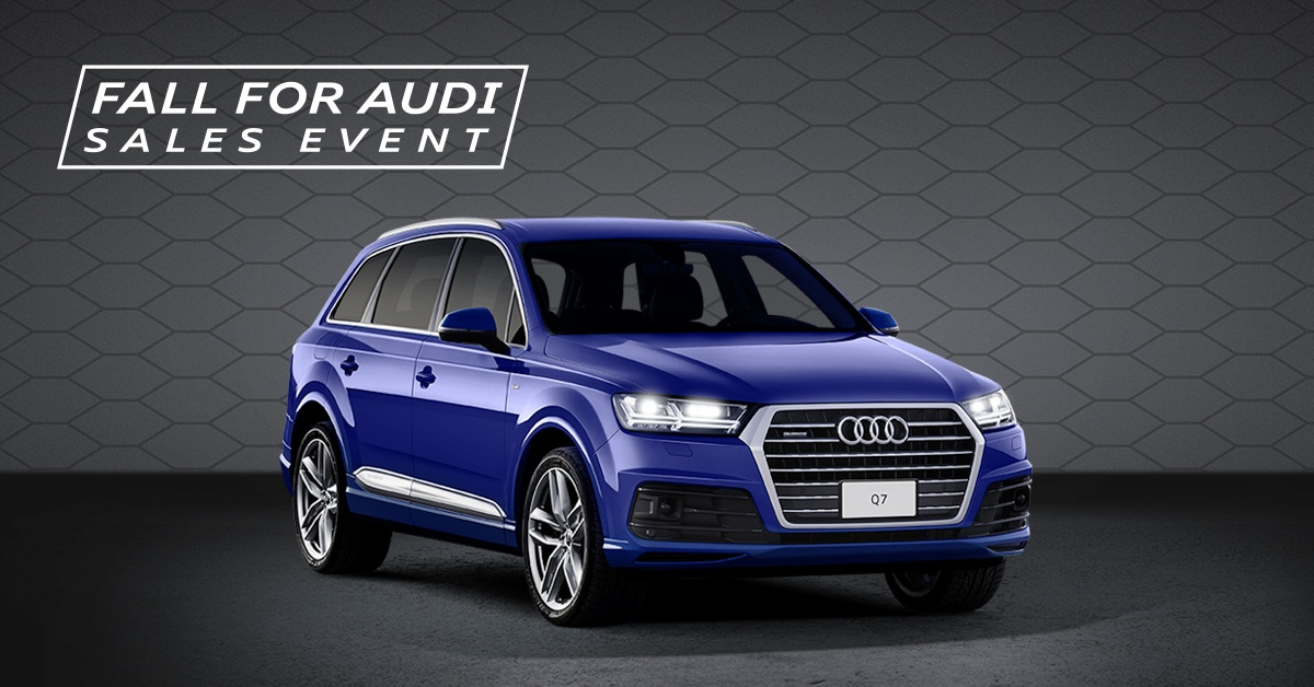 Fall for Audi Sales Event – 2018 Q7
