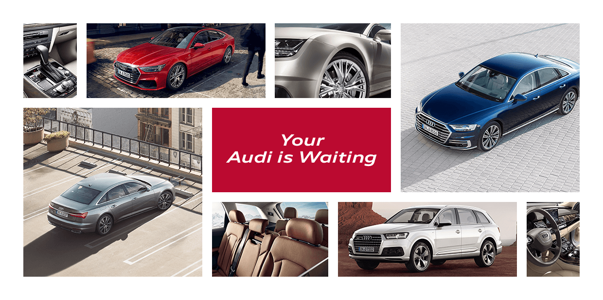 Your Audi is waiting