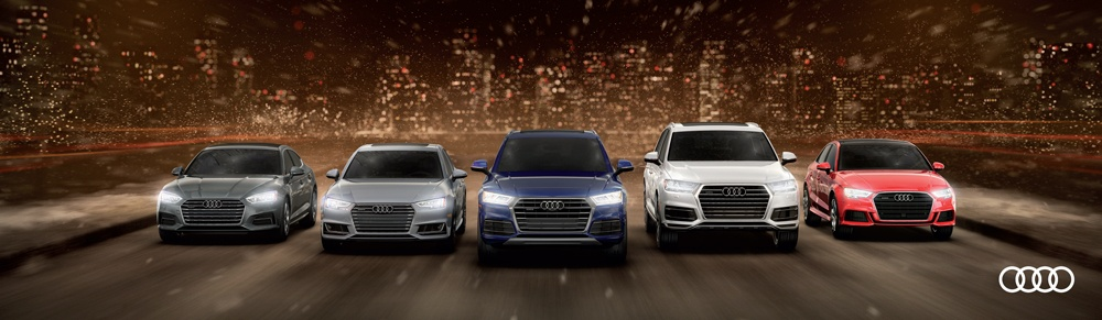 Audi Year End Sales Event