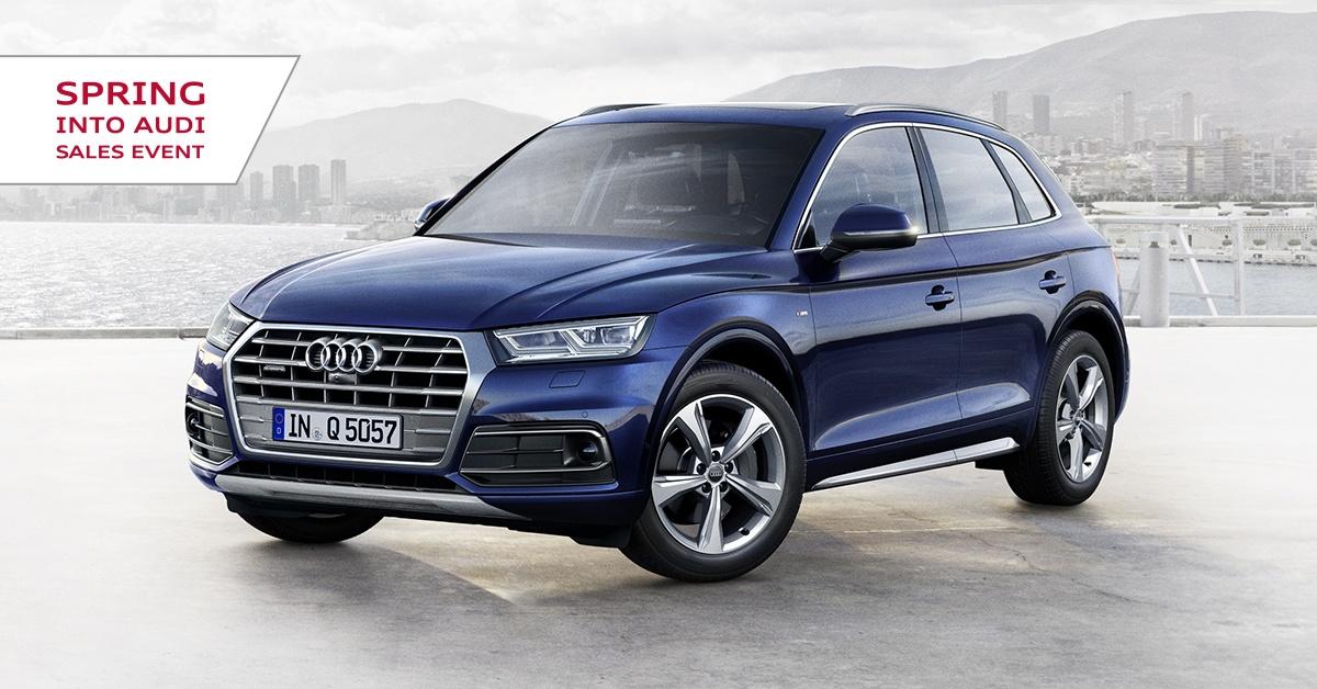Spring Into Audi Sales Event – Q5