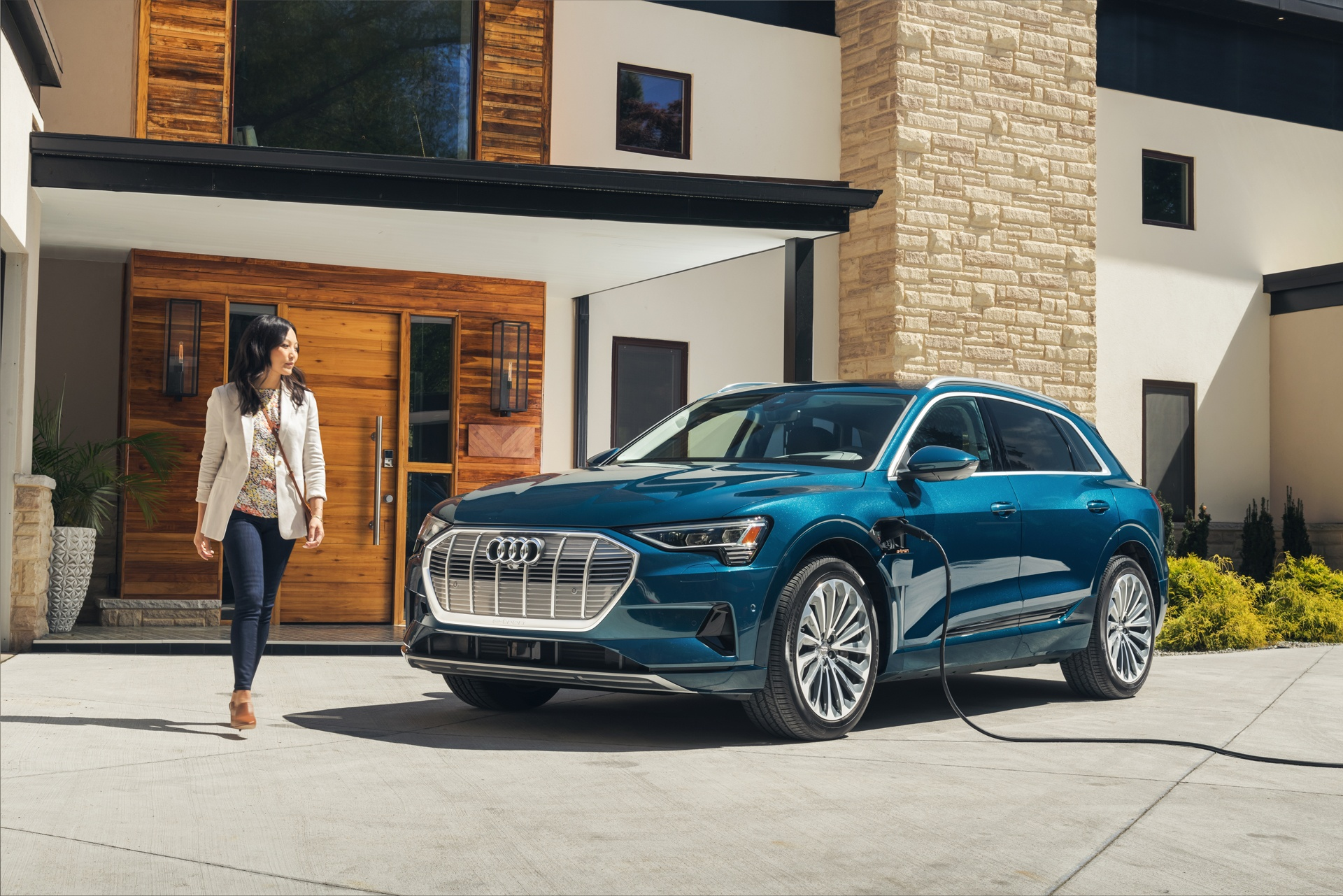 Electric Goes Audi With New All-New e-Tron