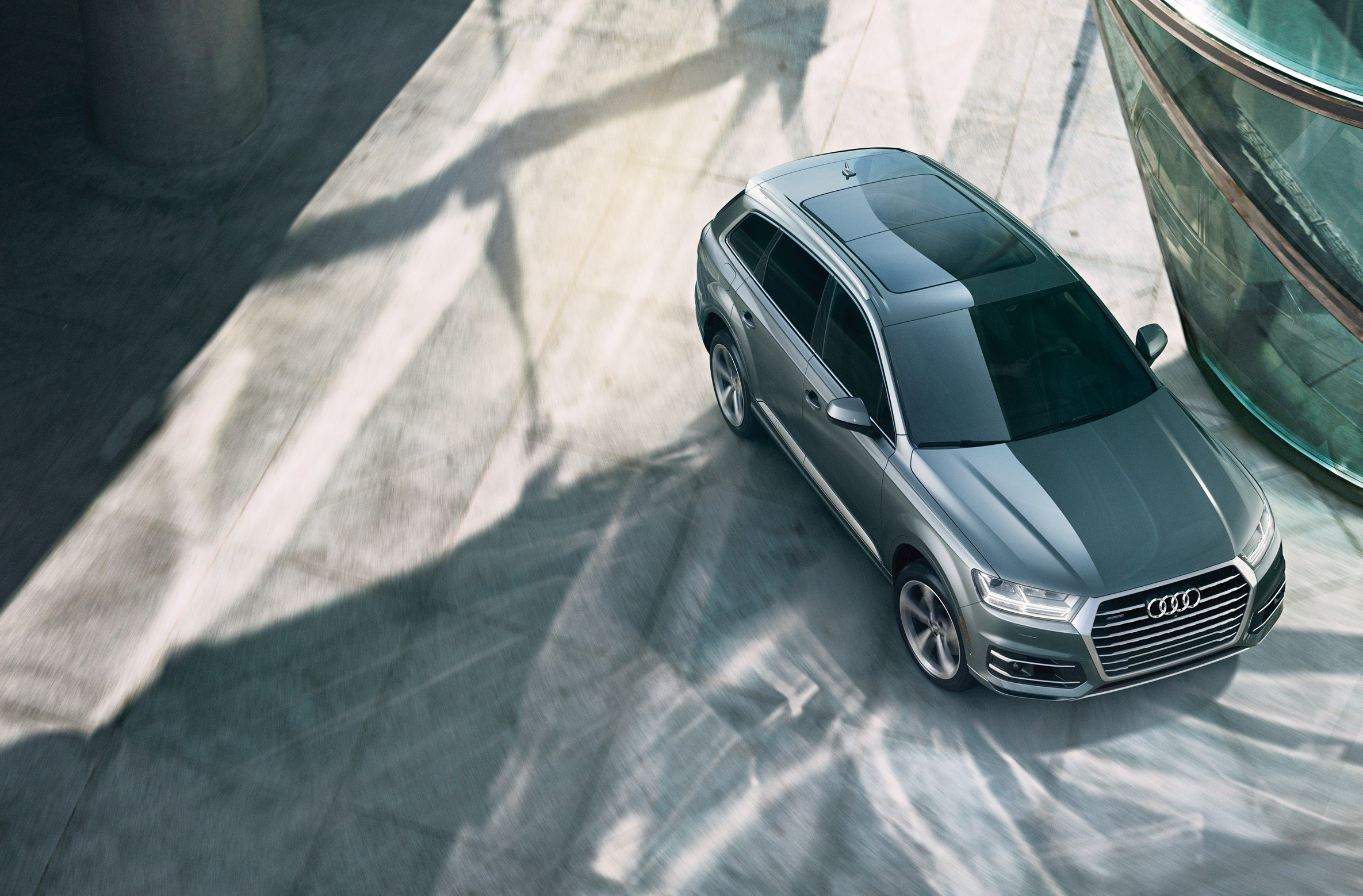 The Q7: Rugged yet refined