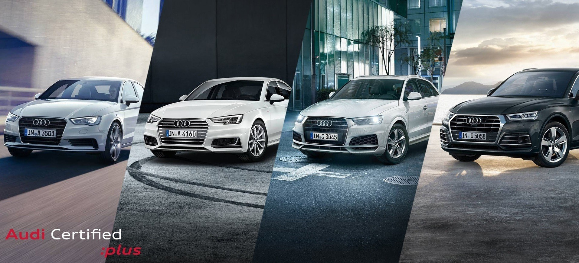 Audi Certified Pre-Owned – The offer is limited. The luxury is not.