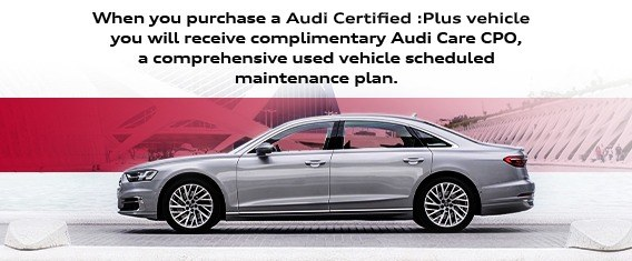 Audi Care Used Promotion