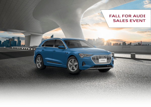 Fall for Audi with the 2019 e-tron