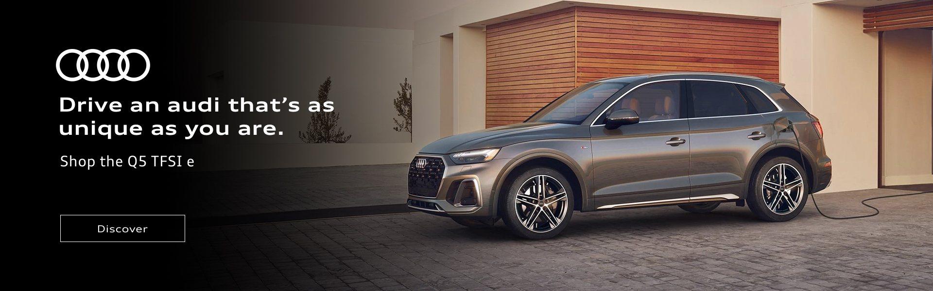 Audi q5e promo banner