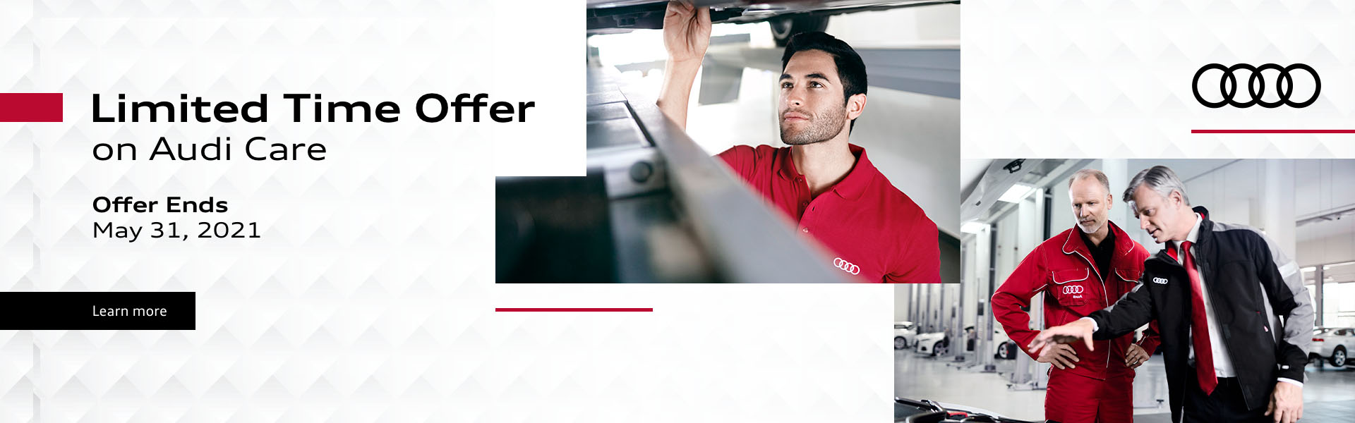 Audi Care Promotional Banner