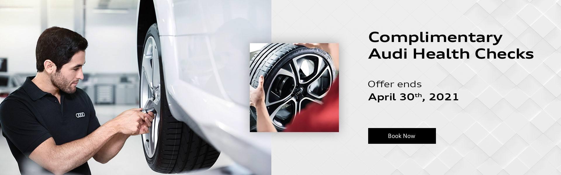 Complimentary Audi Health Checks