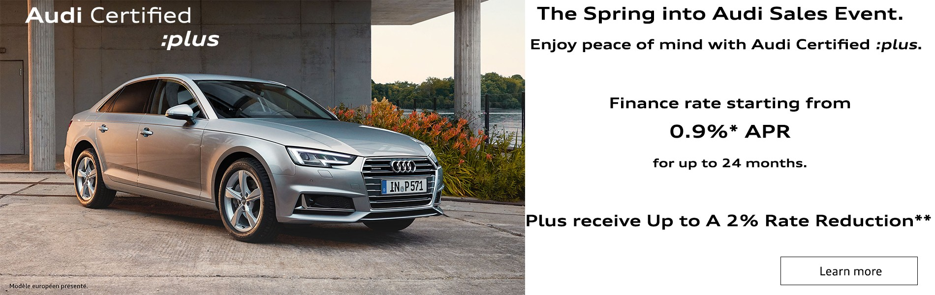 Spring into Audi Certified :Plus