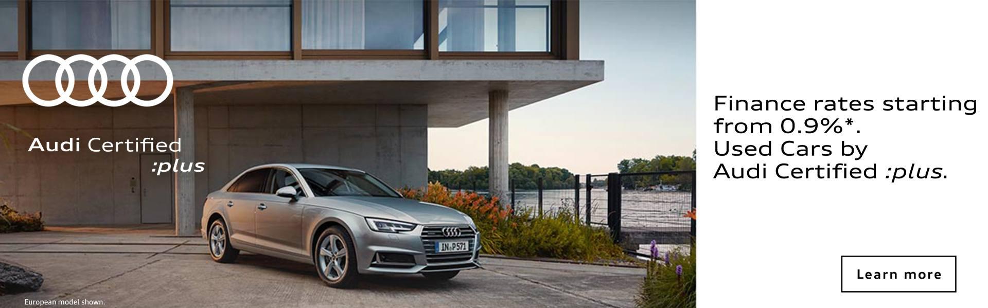 Audi Certified :Plus offer