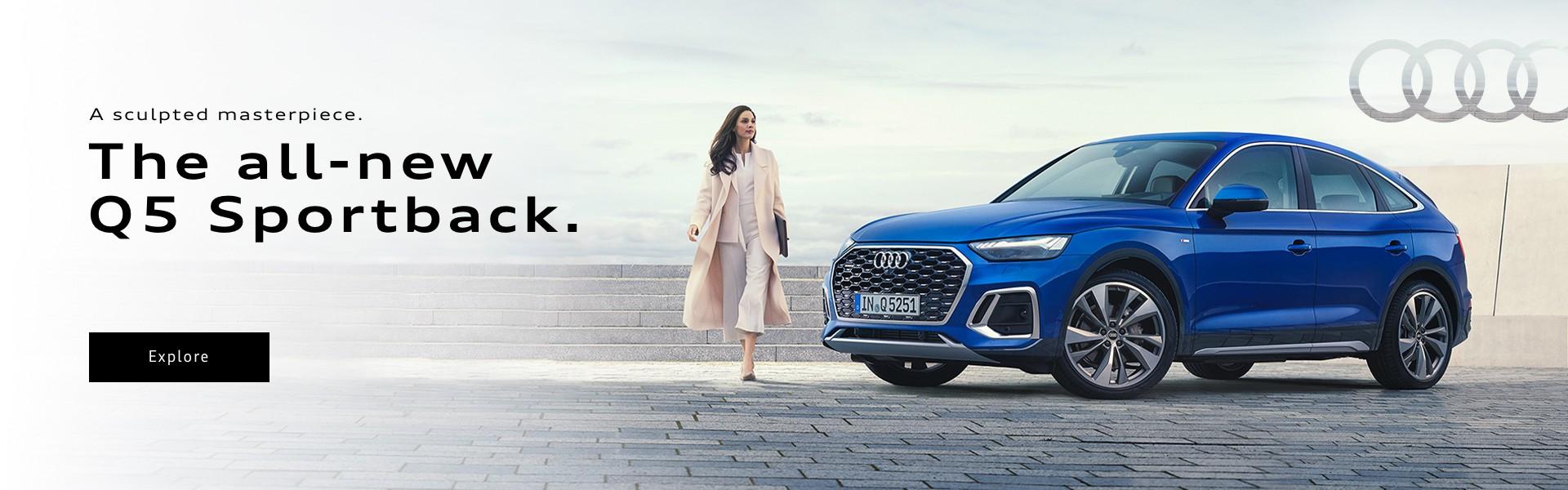 2021 Audi Q5 Sportback Promotional Banner