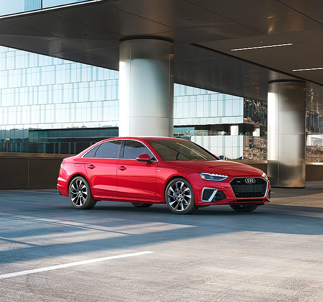 Fall for the 2021 Audi A4