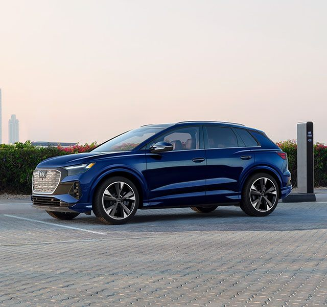 The new Audi Q4 e-tron